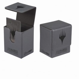 DECKBOX MTG Magic Planeswalker Flip Grey