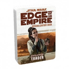 Star Wars Edge of The Empire Trader Specialization Deck RPG