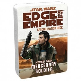Star Wars Edge of The Empire Mercenary Specialization Deck RPG