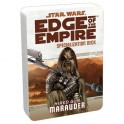 Star Wars Edge of The Empire Marauder Specialization Deck RPG