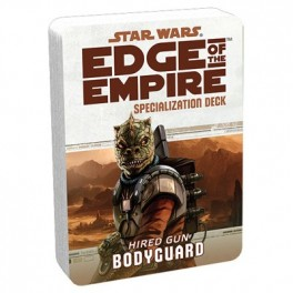 Star Wars Edge of The Empire Bodyguard Specialization Deck RPG