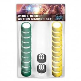 Mage Wars Action Marker Set