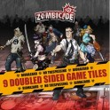Zombicide 9 Double Sided Game Tiles