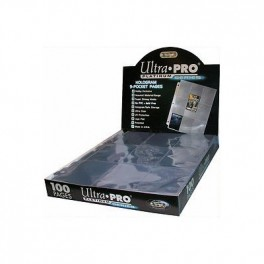 Hologram Pages Platinum 9-Pocket 11 hole Ultra-Pro