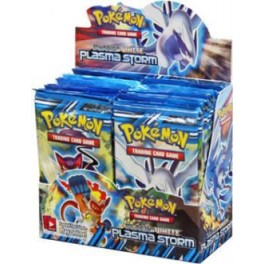 Pokemon TCG B&W8 Plasma Storm Boosterbox Display