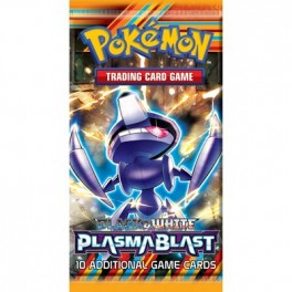 Pokemon TCG B&W10 Plasma Blast Boosterbox Display